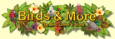 Birds and More: The Bird Lovers Store, 1637 Cabrillo Avenue, Torrance, CA 90501, 310-320-9495
