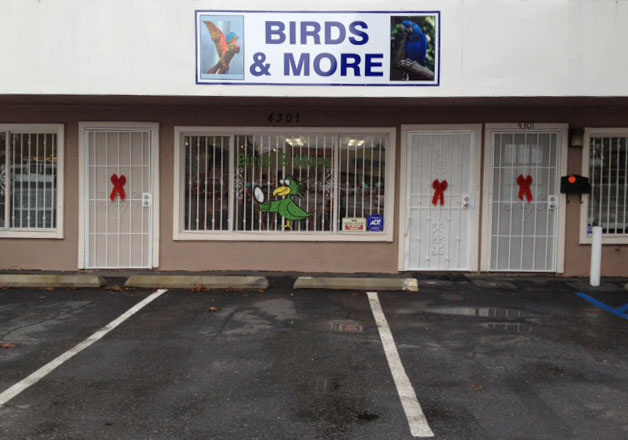 Birds & More 4301 Redondo Beach Blvd. Lawndale CA 90260