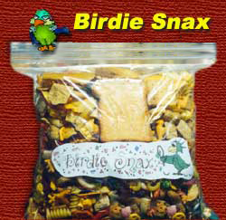 Birdie Snax - made exclusively for Birds & More by Rosie and Dawn!